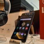 Belum resmi meluncur, LG V20 mejeng di IHEAC Show