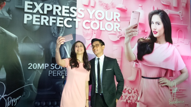 Vivo V5 Rose Gold & Space Grey launch