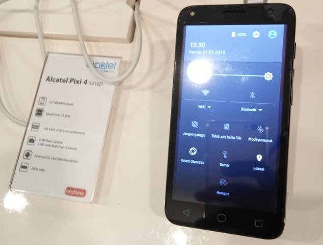 Alcatel Pixi 4 - 5 inch 5010D