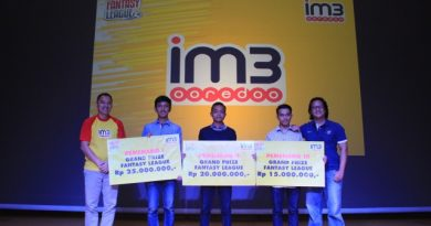 """IM3 Ooredoo Fantasy League"" winners"