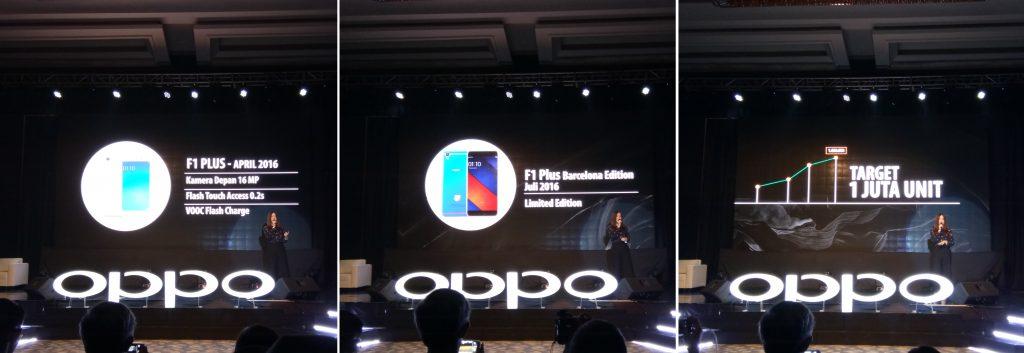 OPPO F1S Limited Black Edition penerus OPPO F1 Plus