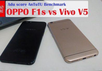 Adu AnTuTu: OPPO F1s vs Vivo V5