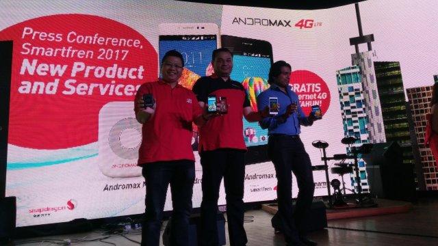 Andromax B dan Andromax L launch