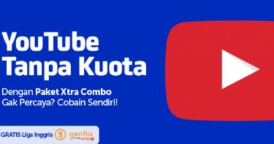 XTRA Combo gratis akses Youtube