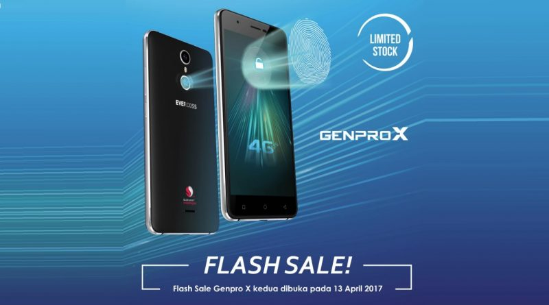 2nd flash sale Genpro x