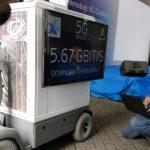 XL 5G berhasil tembus kecepatan 5,6Gbps saat uji coba outdoor