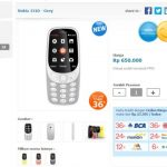 Nokia 3310 dijual seharga 650 ribu di Indonesia