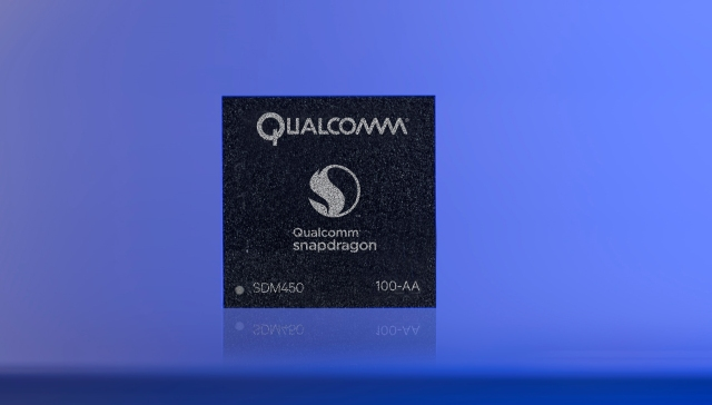 Snapdragon 450_chip image
