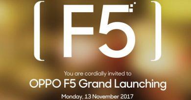 Undangan Launch OPPO F5