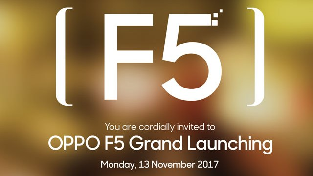 Undangan Launch OPPO F5