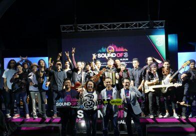 Gandeng Musisi Lokal, Tri Indonesia Rilis Album Digital Sound of Tri