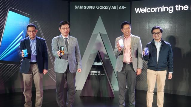 Peluncuran Galaxy A8 dan A8+ di Jakarta