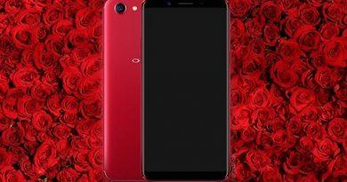 OPPO F5 4GB RAM kini tesedia dalam pilihan warna Merah