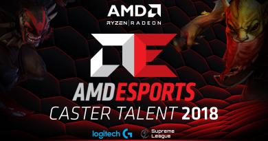 AMD eSPORT CAster Talent 2018