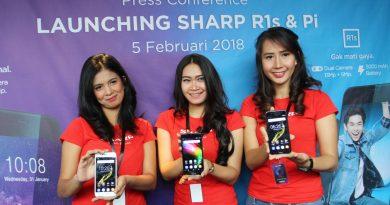 Peluncuran SHarp pi dan sharp r1s