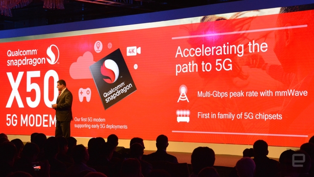 Snapdragon X50, Qualcomm 5G chipset
