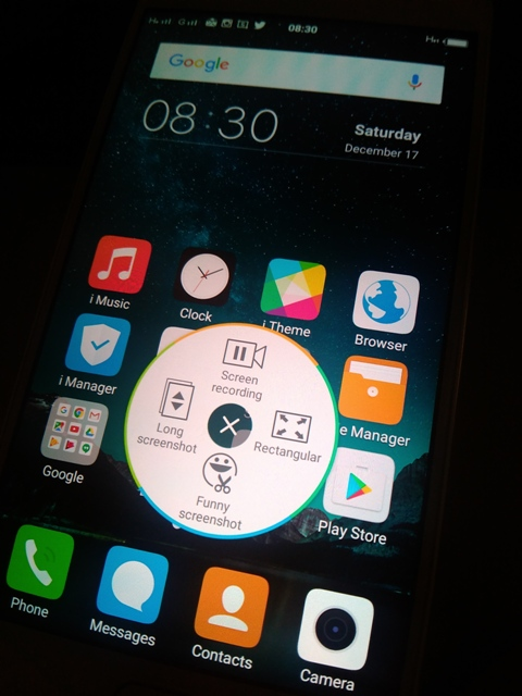 vivo v5 screenshoot