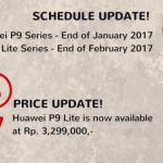 Harga Huawei P9 Lite turun dan segera dapat update UI
