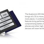 Qualcomm 205 untuk ponsel murah berkoneksi 4G LTE