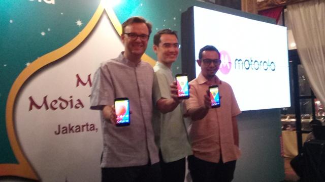 Peluncuran Moto C di Jakarta