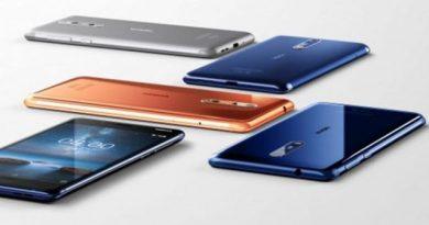 Nokia 8 - empat pilihan warna