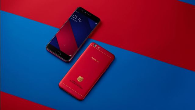 OPPO F3 Barcelona Limited Editions