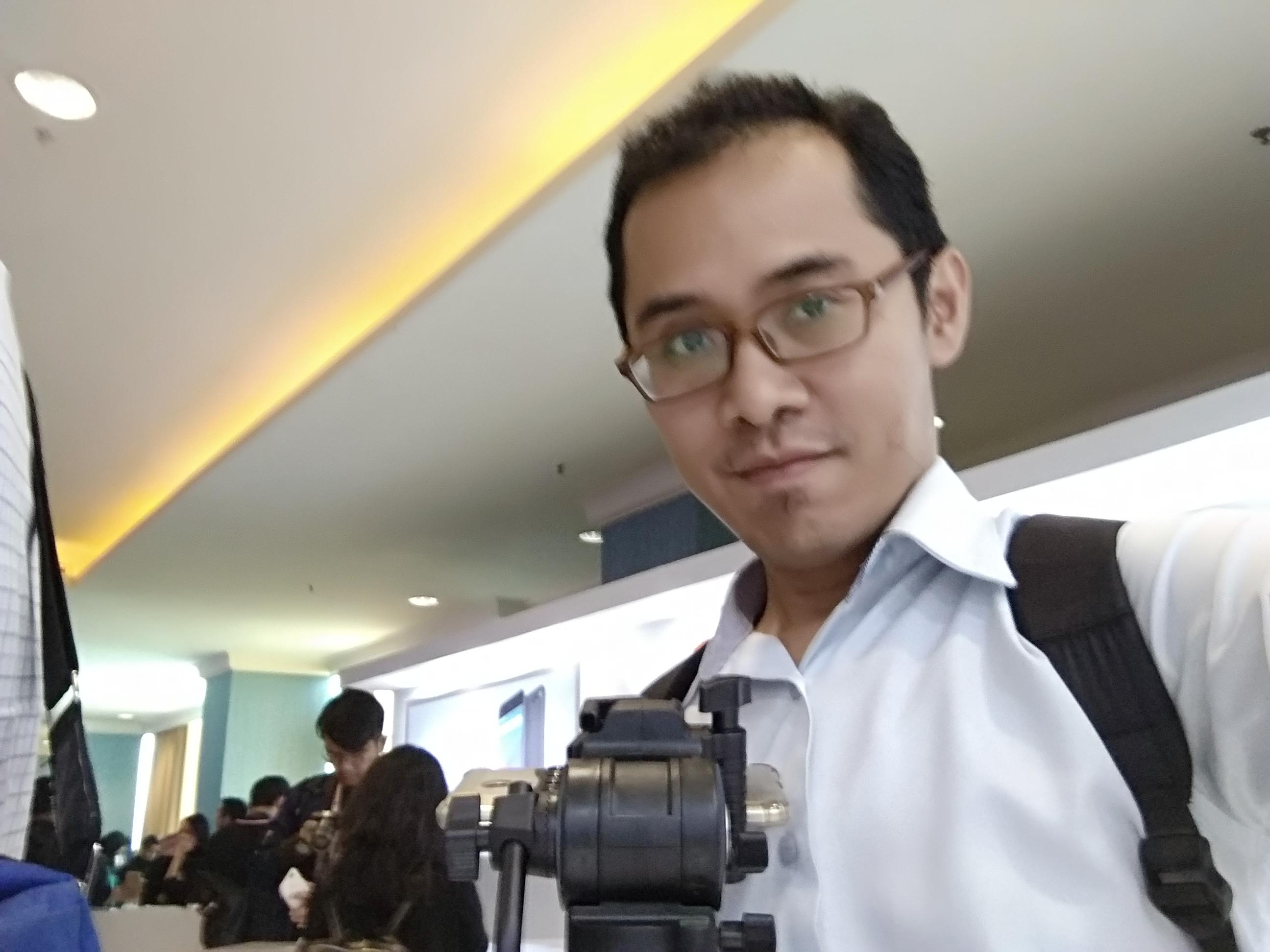 Hasil tangkapan kamera selfie Mi A1