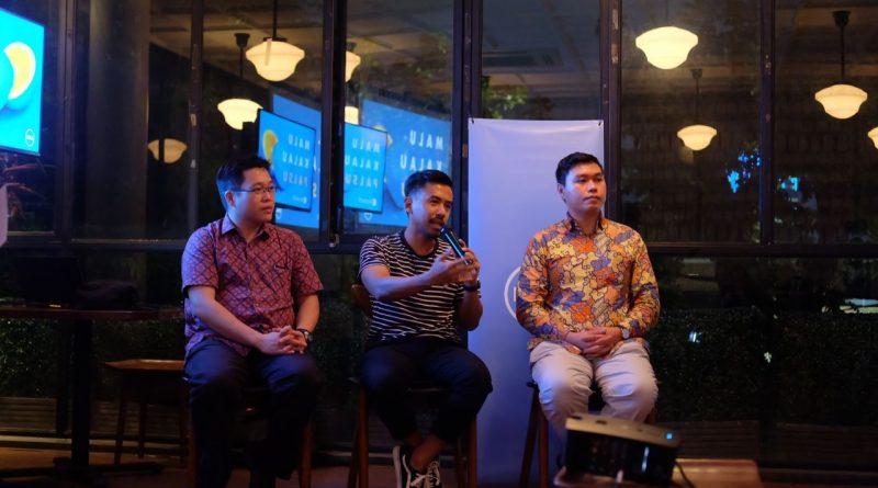 Perwakilan DELL, Microsoft dan @sheggario di acara #MaluKalaupalu