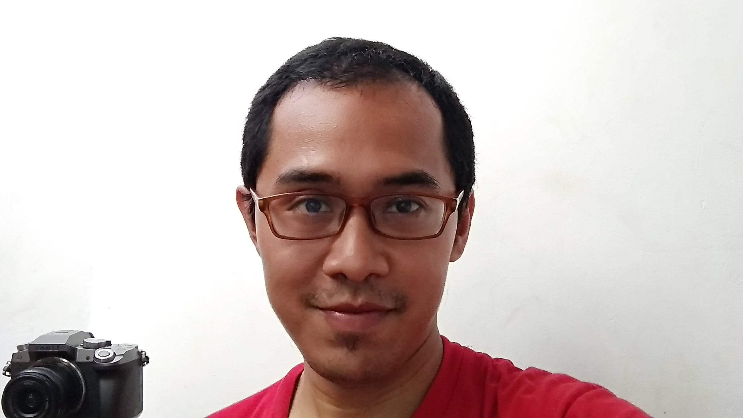 Hasil foto kamera selfie Redmi 5a