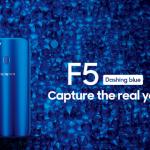 OPPO F5 Dashing Blue Hanya dijual 100 Unit