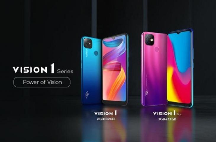 itel Vision 1 dan vision 1plus