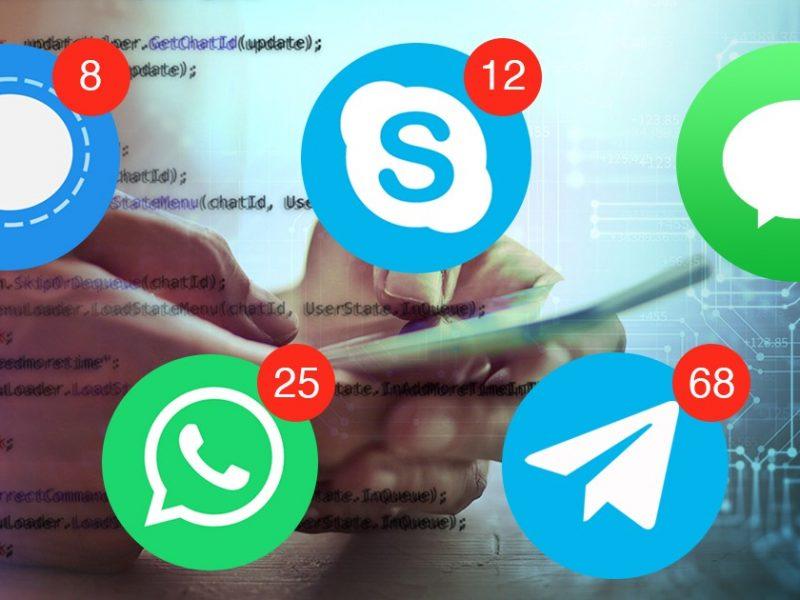 aplikasi messaging