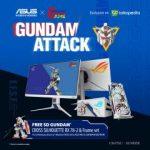 ASUS X GUNDAM Series Siap Dijual di Indonesia