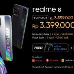 Realme 8, The Best Performance Stylish Phone di Segmen Mid Range